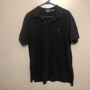 Polo Ralph Lauren custom fit polo shirt black XL